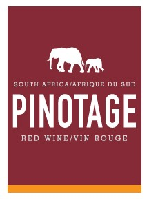 South Africa / Afrique du sud - Pinotage - Peel & Stick