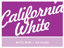 California White - Dry Gummed Label