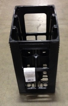 Plastic 6 Bottle Wine Crate (EAST)