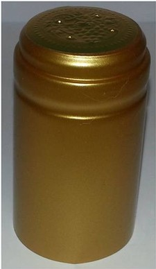 Gold Metallic Plain Shrink (30)